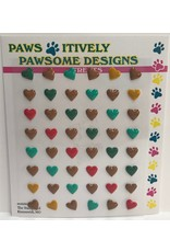 Paws-Itively Pawsome Designs Nibblers - Tiny Hearts A