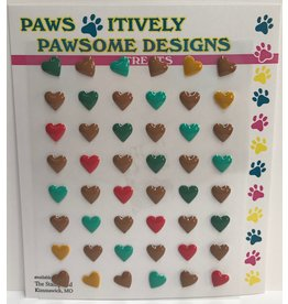 Paws-Itively Pawsome Designs Tiny Hearts A