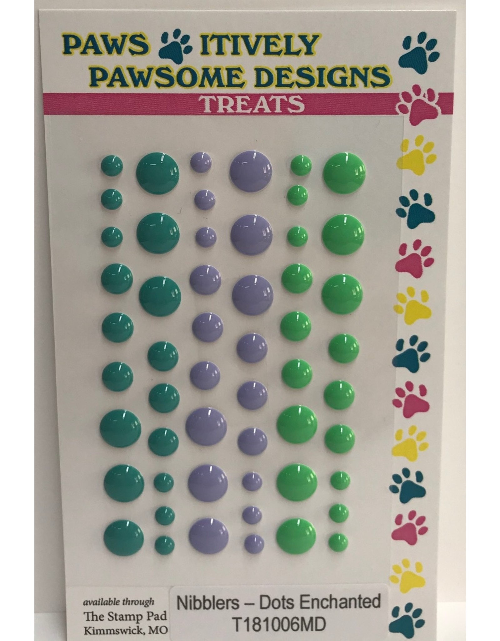 Paws-Itively Pawsome Designs Nibblers - Dots Enchanted
