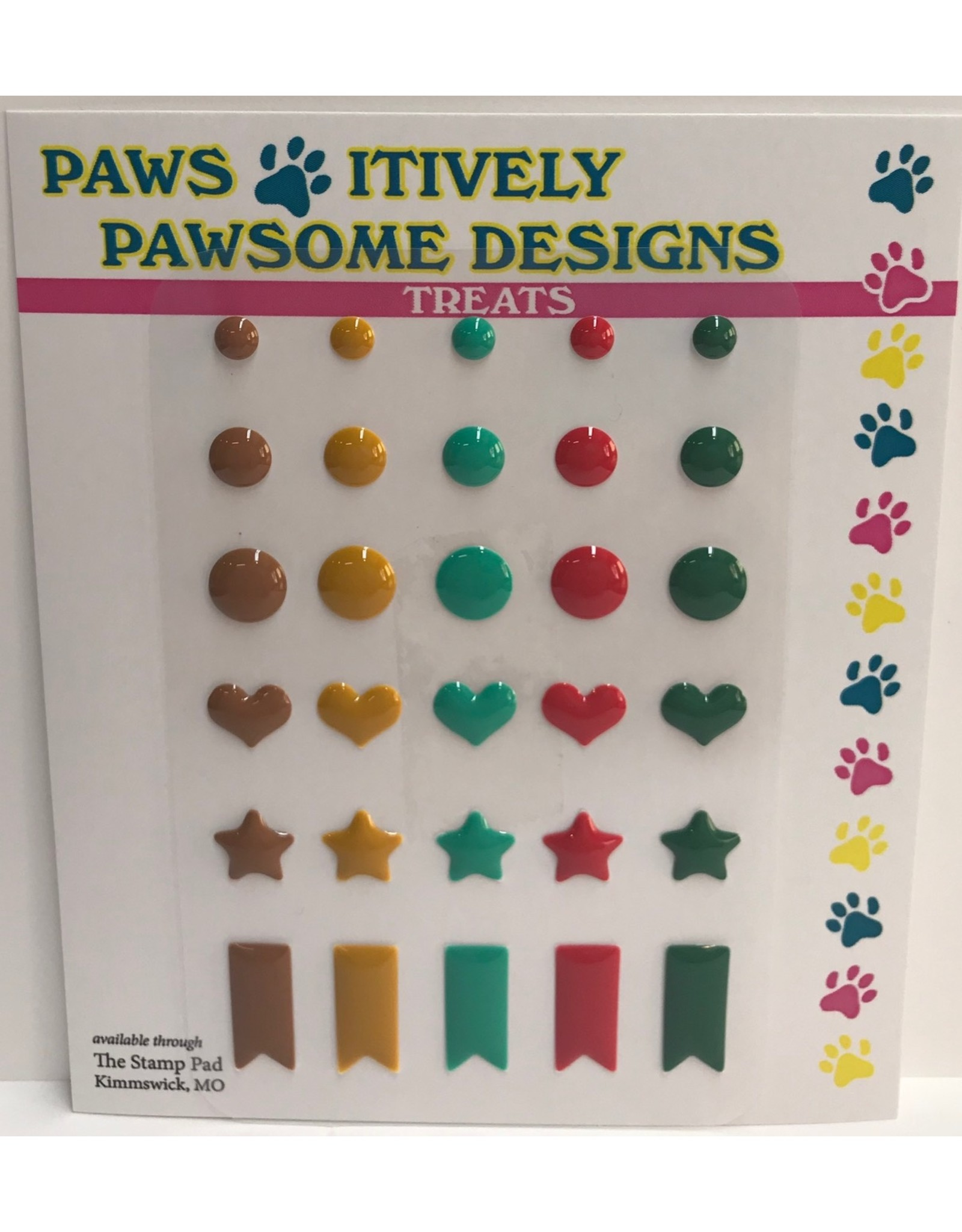 Paws-Itively Pawsome Designs Nibblers - Shapes 1A