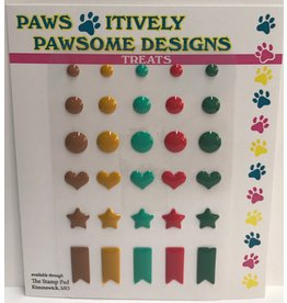 Paws-Itively Pawsome Designs Shapes 1A