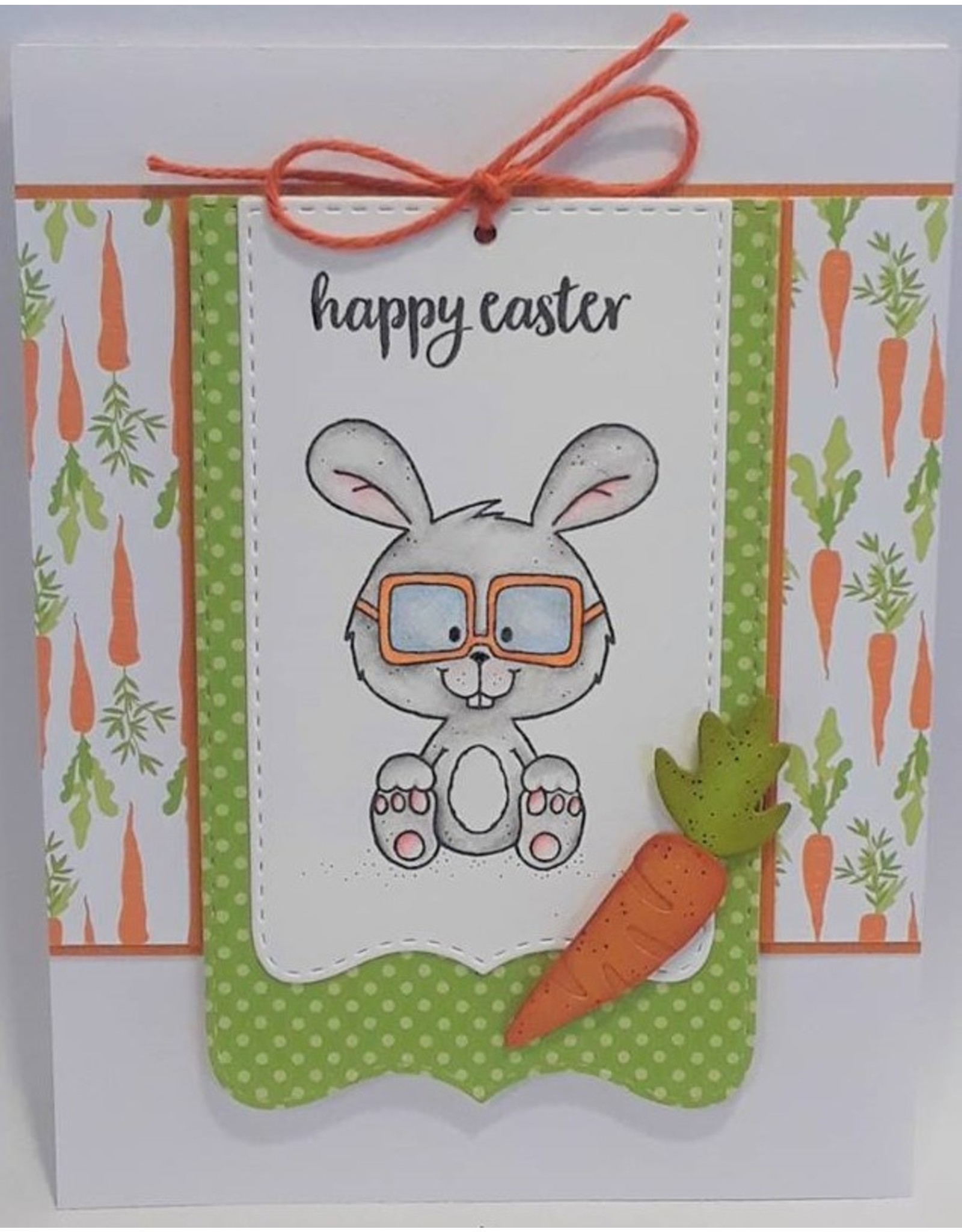 Paws-Itively Pawsome Designs Cute Carrots - Die