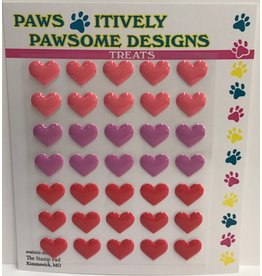 Paws-Itively Pawsome Designs Nibblers - Hearts Set 1