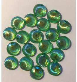 Paws-Itively Pawsome Designs Iridescent Shells 10mm-Green