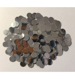 Paws-Itively Pawsome Designs Confetti - Circle (6mm) - Silver