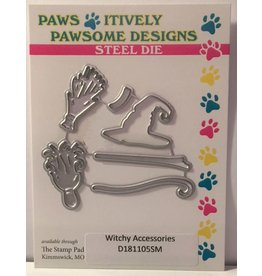 Paws-Itively Pawsome Designs Witchy Accessories - Die