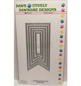 Paws-Itively Pawsome Designs A2 Stitched Banner Set