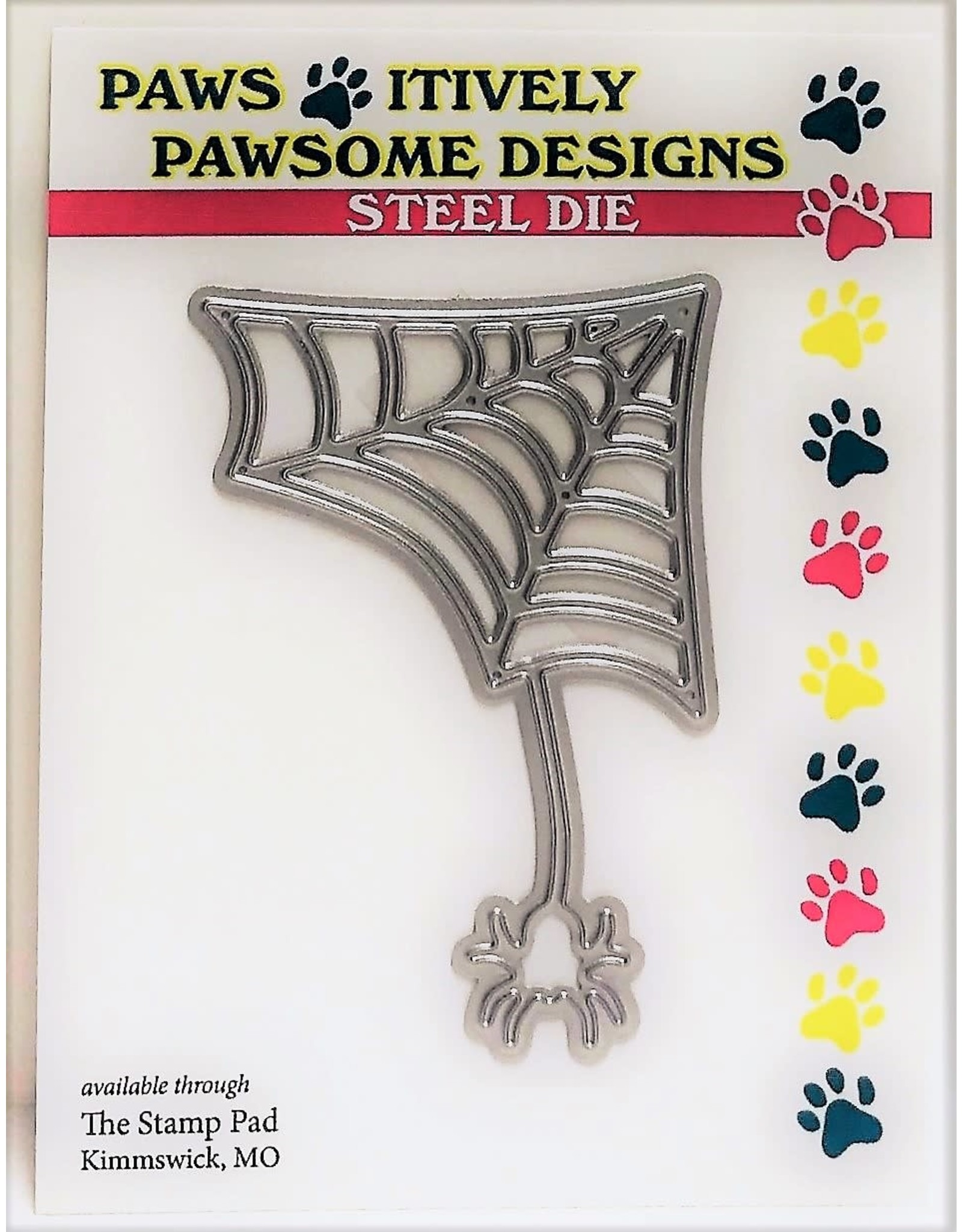 Paws-Itively Pawsome Designs Betsy & Her Web - Die