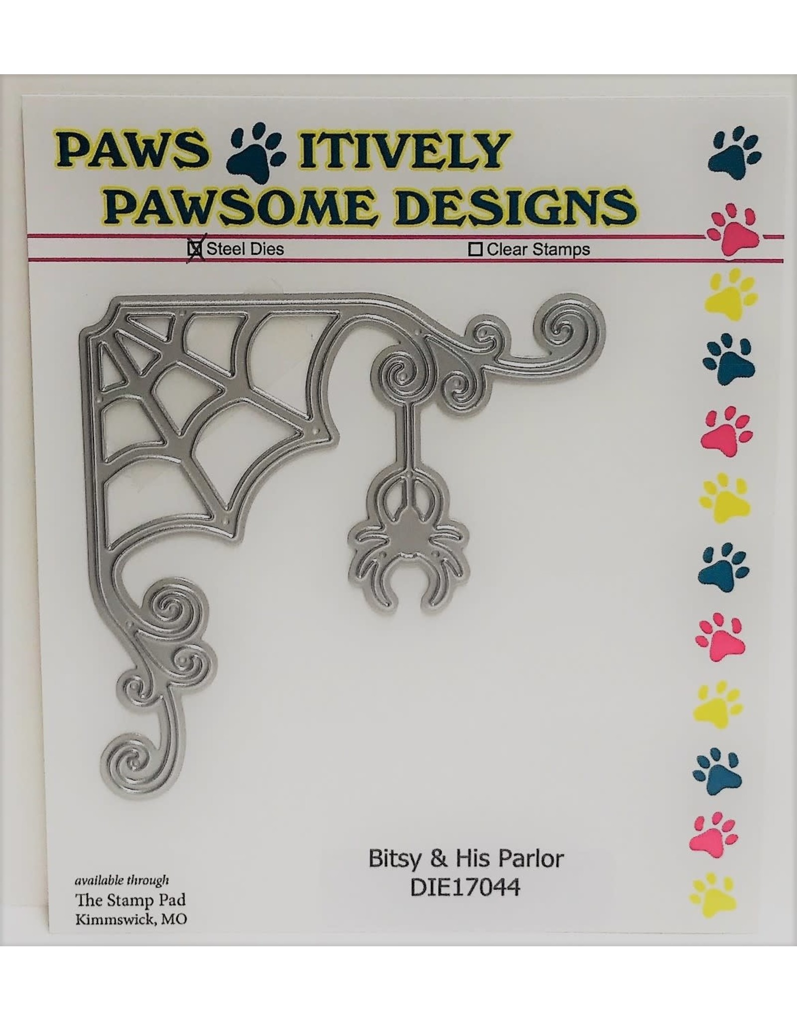 Paws-Itively Pawsome Designs Bitsy & His Parlor - Die