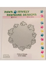 Paws-Itively Pawsome Designs Circle of Ghosts - Die