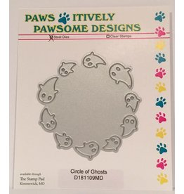 Paws-Itively Pawsome Designs Circle of Ghosts