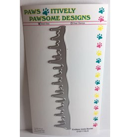 Paws-Itively Pawsome Designs Endless Icicle Border - Die
