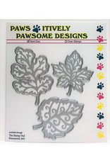 Paws-Itively Pawsome Designs Fall Embossed Leaves - Die