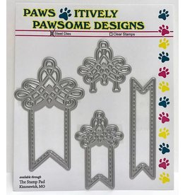 Paws-Itively Pawsome Designs Fancy Fishtail Tabs
