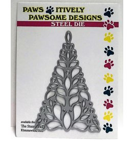Paws-Itively Pawsome Designs Festive Tree Cutout