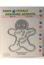 Paws-Itively Pawsome Designs Gingerbread Gared - Die