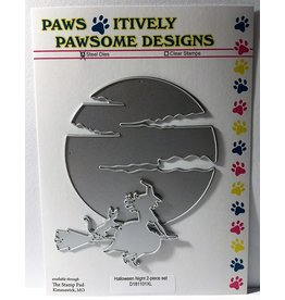 Paws-Itively Pawsome Designs Halloween Night 2-piece Set