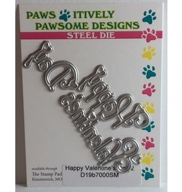 Paws-Itively Pawsome Designs Happy Valentine's Day 2 - Die