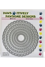 Paws-Itively Pawsome Designs Hearts Circle Set - Die