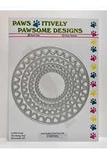 Paws-Itively Pawsome Designs Inner Scallop Circle Frame Set - Die