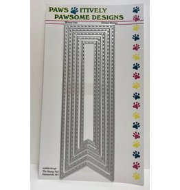 Paws-Itively Pawsome Designs Long Stitched Banners - Die