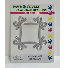 Paws-Itively Pawsome Designs Mini Bow Frame