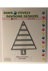 Paws-Itively Pawsome Designs Modern Tree Cutout - Die
