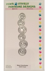 Paws-Itively Pawsome Designs Moon Circle Border - Die
