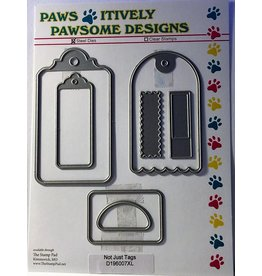 Paws-Itively Pawsome Designs Not Just Tags - Die