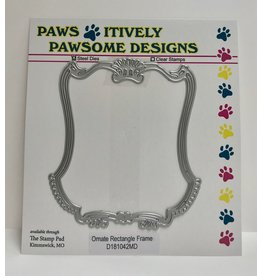 Paws-Itively Pawsome Designs Ornate Rectangle Frame