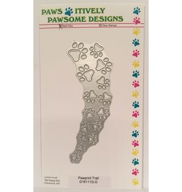 Paws-Itively Pawsome Designs Pawprint Trail - Die
