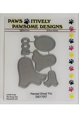 Paws-Itively Pawsome Designs Pierced Ghost Trio - Die