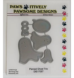 Paws-Itively Pawsome Designs Pierced Ghost Trio