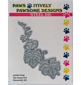 Paws-Itively Pawsome Designs Pumpkin Leaves - Die