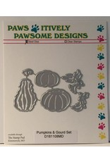 Paws-Itively Pawsome Designs Pumpkins & Gourd Set - Die
