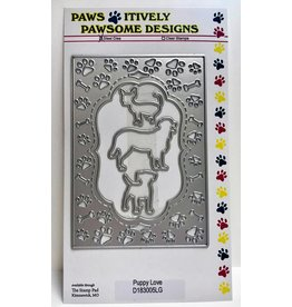 Paws-Itively Pawsome Designs Puppy Love - Die