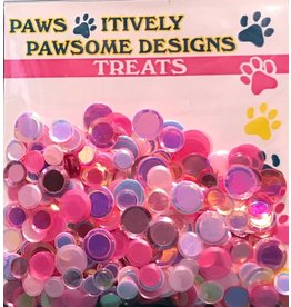 Paws-Itively Pawsome Designs Shaker Confetti - Think Pink