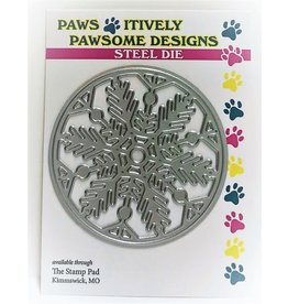 Paws-Itively Pawsome Designs Snowflake Circle