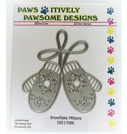 Paws-Itively Pawsome Designs Snowflake Mittens - Die