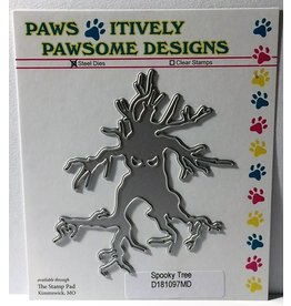 Paws-Itively Pawsome Designs Spooky Tree - Die