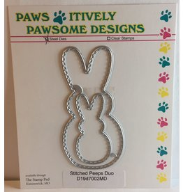 Paws-Itively Pawsome Designs Stitched Peeps Duo