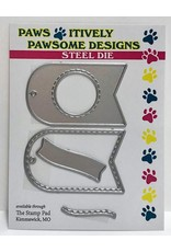 Paws-Itively Pawsome Designs Tiny Tag Duo - Die