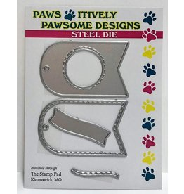 Paws-Itively Pawsome Designs Tiny Tag Duo