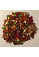 Paws-Itively Pawsome Designs Sequins - Brilliant Autumn