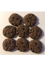 Paws-Itively Pawsome Designs Faux Chocolate Chocolate Chip Cookies (8)