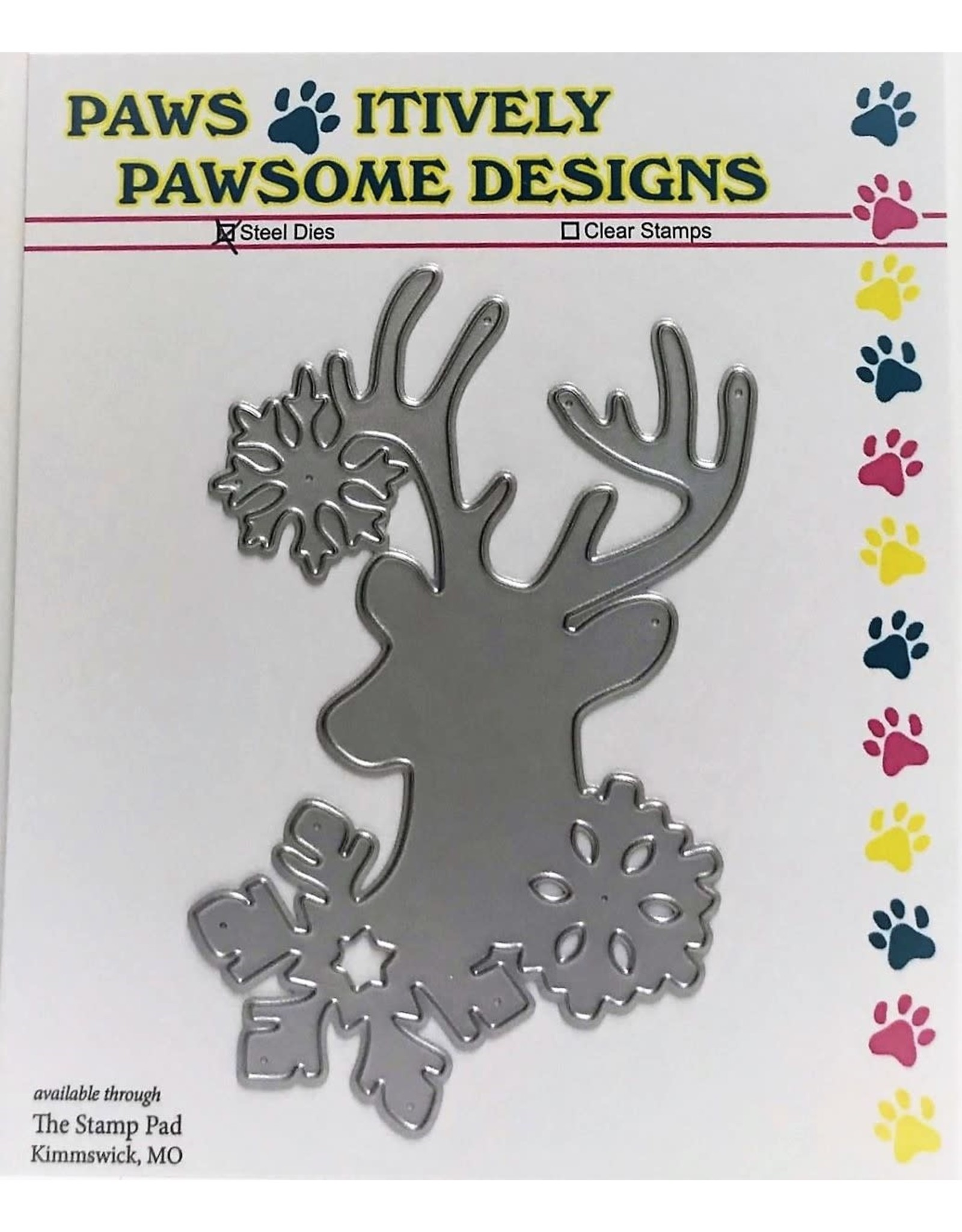 Paws-Itively Pawsome Designs Frosty Buck - Die