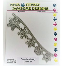 Paws-Itively Pawsome Designs Snowflake Swag