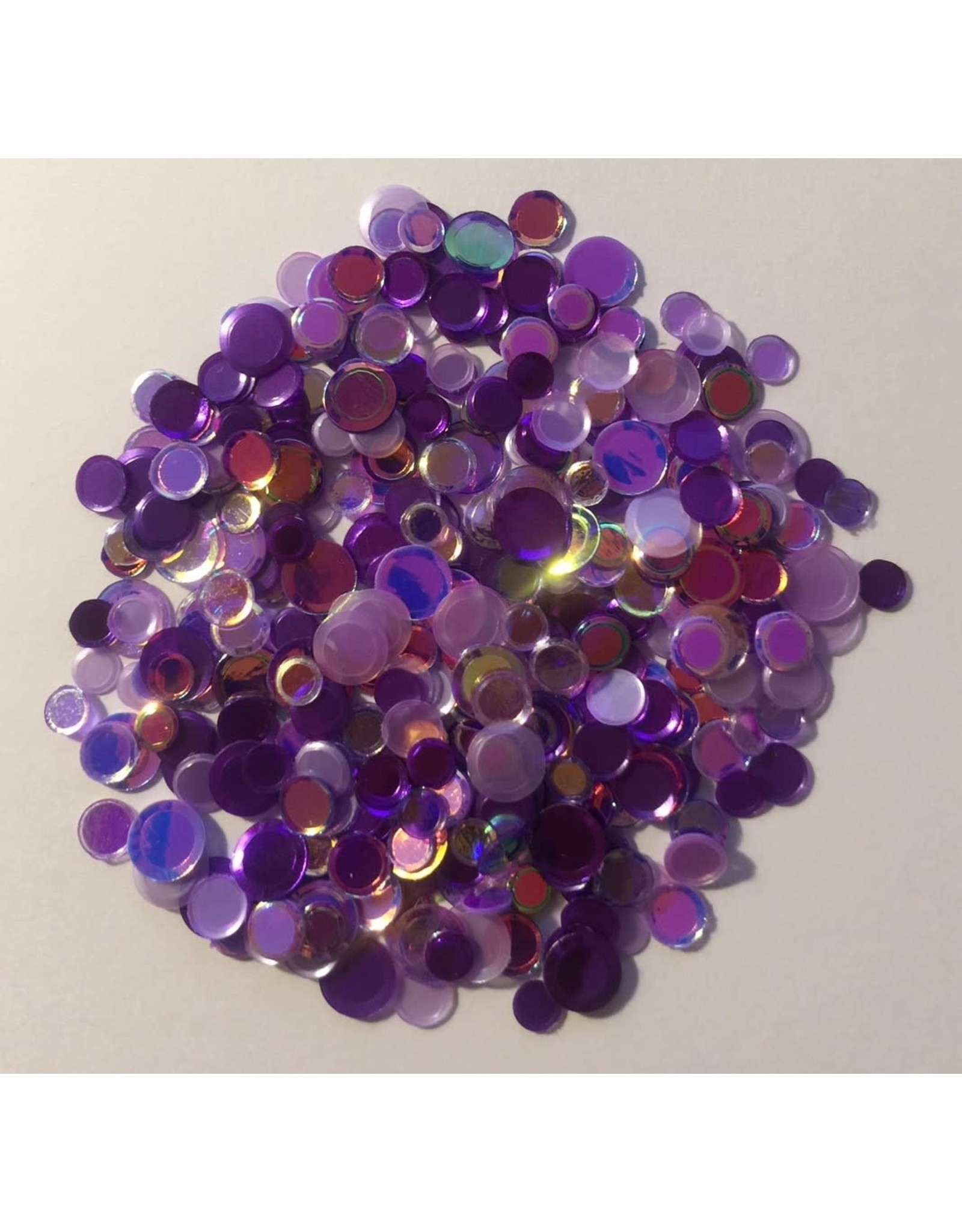 Paws-Itively Pawsome Designs Shaker Confetti - Purple Passion