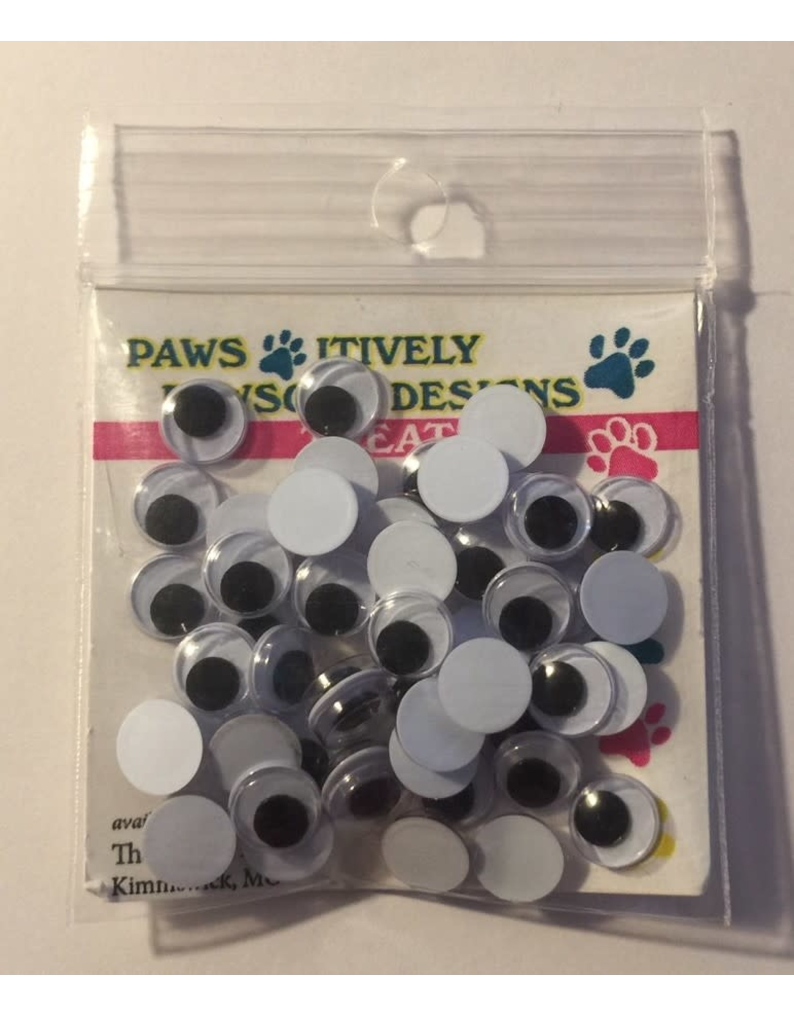Paws-Itively Pawsome Designs Wiggle Eyes - 7mm (Qty 50)