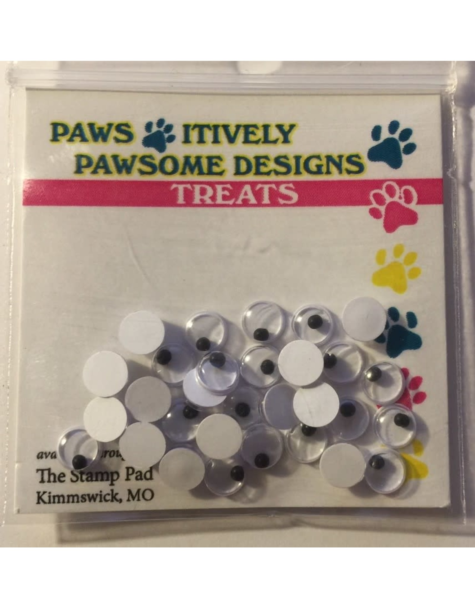 Paws-Itively Pawsome Designs Wiggle Eyes - 5mm (Qty 30)